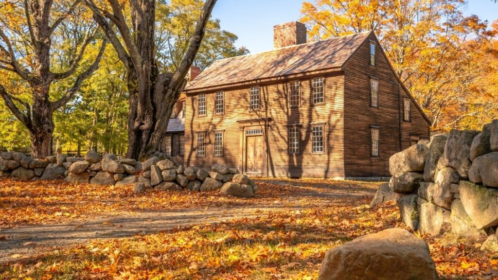 Colonial Saltbox House