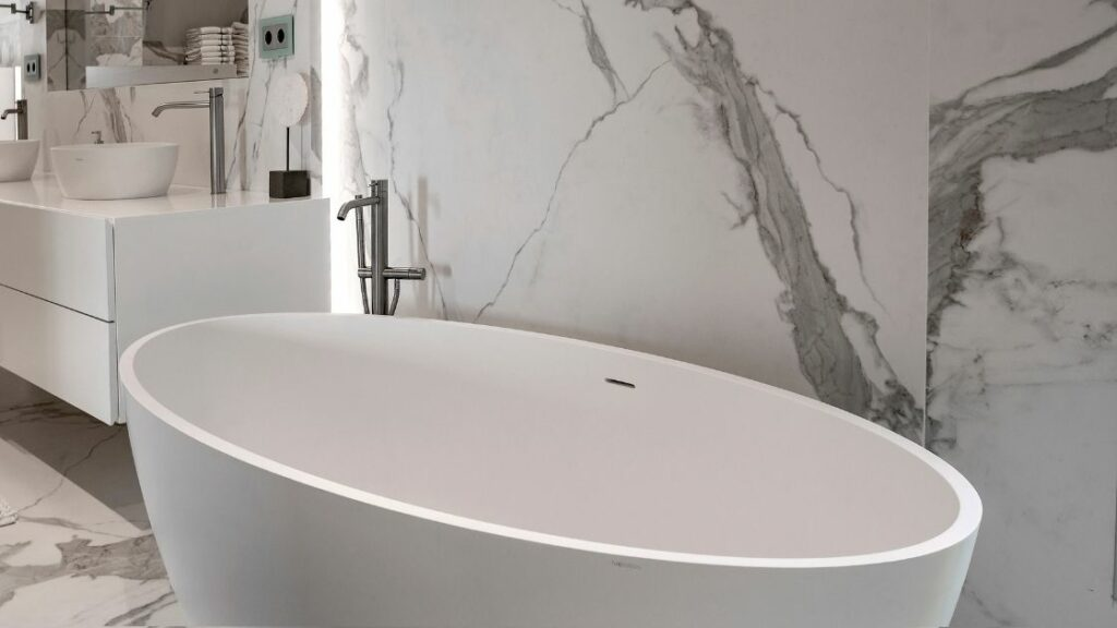 Luxury Marble Bathroom Modern Tub