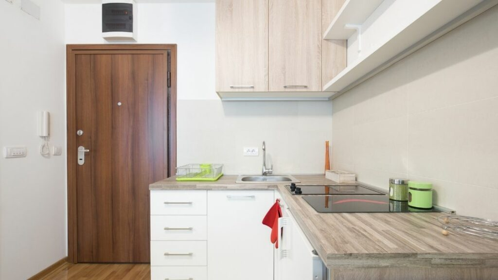 Modern Small Wooden Kitchen