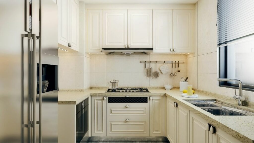 Small U Shaped Kitchen