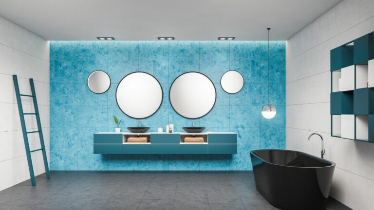 Blue Bathroom Vanity Ideas